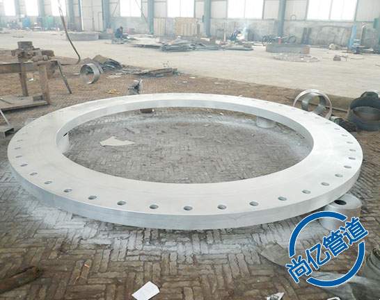 大口径板式平焊法兰产品展示