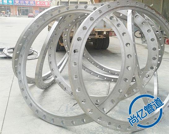 平焊大口径碳钢法兰大型法兰产品