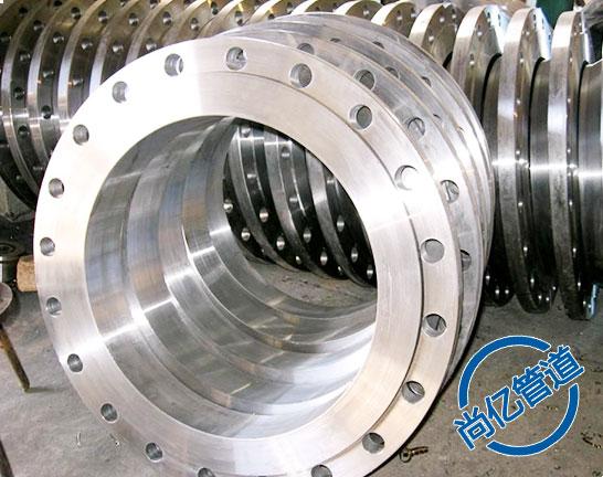 大口径碳钢法兰对焊法兰